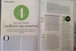 revista-claudia-4-dicas-para-sua-memoria - Franquia de Escola SUPERA