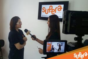 Andreia Valério, franqueada da unidade SUPERA Curitiba Batel em entrevista