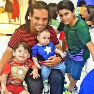 Denis Coutinho e sua principal motivação: os filhos