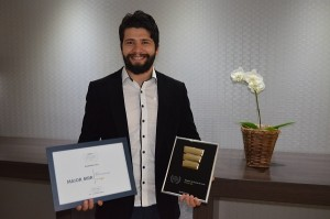 Clayton Margiotti, CEO da Eleva, agência vencedora do prêmio
