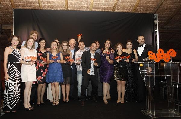Franqueados premiados no jantar da Convenção Nacional SUPERA 2015