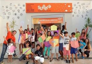 """Workshop """"Como fazer sua pipa"""", realizado na unidade SUPERA Bacabal"""