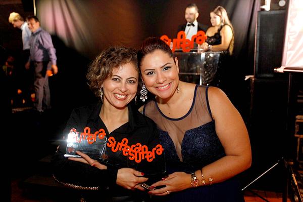 A empreendedora conquistou três troféus do SUPERA Franqueador pelo sucesso de sua unidade