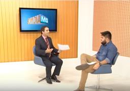 José Pedro Duarte, franqueado do SUPERA Montes Claros, em entrevista no Bom Dia MG
