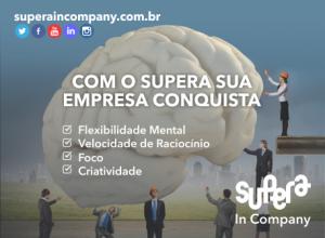 O SUPERA In Company promove o desenvolvimento de competências essenciais para o aprendizado e para a carreira. O método treina foco, liderança e trabalho em equipe