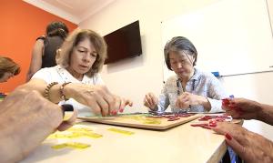 O SUPERA, embora atenda todas as faixas etárias, tem experiência no trabalho com os idosos