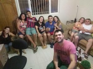 Christian curte o tempo livre com a família aos fins de semana