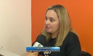 Gestora da unidade SUPERA Macapá em entrevista para a Globo regional