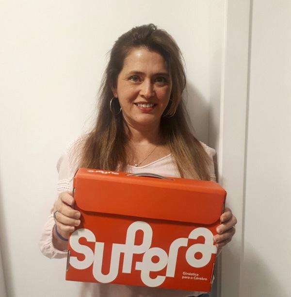 Maria Antônia optou pela franquia como opção de empreendedorismo depois de experimentar a metodologia de ginástica cerebral do SUPERA