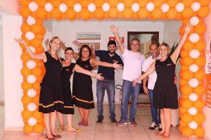 Equipe da Franquia de Curso SUPERA Jacareí (SP) comemora inauguração da unidade