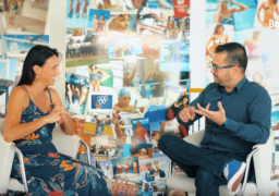 Victor Rocha entrevista famosa ex-nadadora olímpica, Fabíola Molina