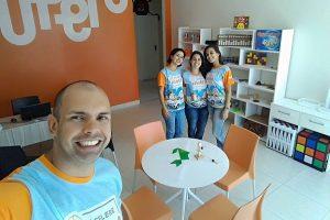 Equipe da Franquia de Curso em Campo Grande, no Rio de Janeiro - Empolgados e com a unidade pronta