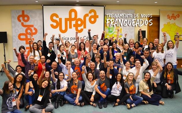 Empreendedores das franquias de cursos pelo Brasil têm energia de sobra!