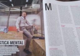 Edição de agosto da Revista Você S/A deu destaque para a ginástica para o cérebro e alunos da Franquia de Cursos