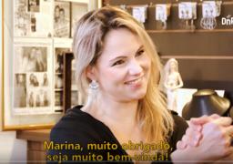 Marina Gheler conta sobre sua trajetória empreendedora para Victor Rocha, Diretor da Franquia de Escola SUPERA