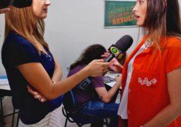 Luana Bulle, franqueada do SUPERA Brigadeiro (SP), em entrevista ao Jornal da Band