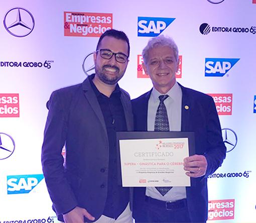 Premio 5 Estrelas PEGN Melhores Franquias 2017