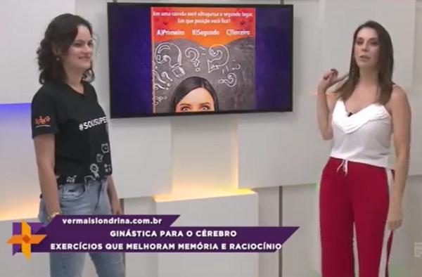 SUPERA participa de programa de TV com desafios